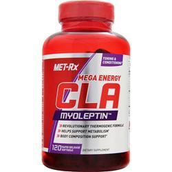 MET-RX CLA Myoleptin - Mega Energy 120 sgels
