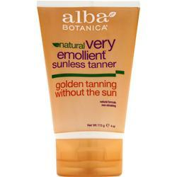 Alba Botanica Very Emollient Sunless Tanner 4 oz