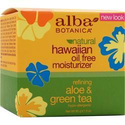 Alba Botanica Hawaiian Oil Free Moisturizer 3 oz