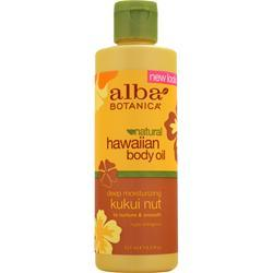 ALBA BOTANICA Hawaiian Body Oil 8.5 fl.oz