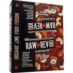 Raw Indulgence Raw Rev 100 Bar Chocolate Crave 20 bars