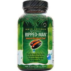 IRWIN NATURALS High Performance Ripped-Man 100 sgels