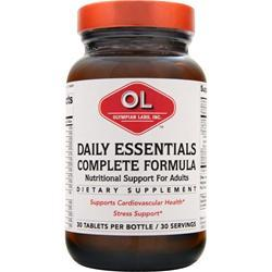 OLYMPIAN LABS Daily Essentials Complete Formula 30 tabs