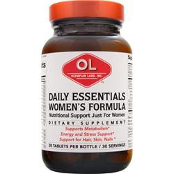 OLYMPIAN LABS Daily Essentials Women's Formula 30 tabs