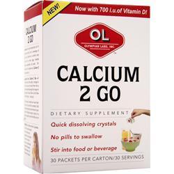 OLYMPIAN LABS Calcium 2 Go 30 pckts