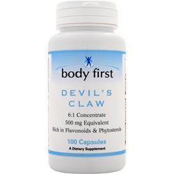 Body First Devil's Claw (500mg) 100 caps