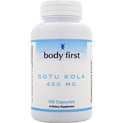 Body First Gotu Kola (450mg) 100 caps