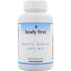 Body First Gotu Kola (450mg) 100 caps