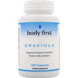 BODY FIRST Graviola (1,000mg) 100 caps