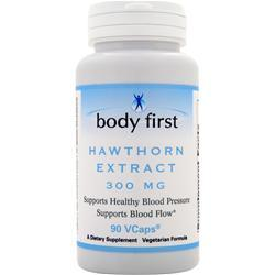 Body First Hawthorn Extract (300mg) 90 vcaps