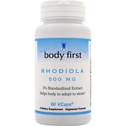 Body First Rhodiola (500mg) 60 vcaps