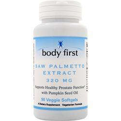 BODY FIRST Saw Palmetto Extract (320mg) 90 sgels