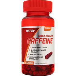 Met-Rx Caffeine - Time Release 60 caps