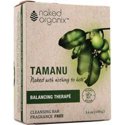 NAKED ORGANIX Cleansing Bar Balancing Therape 4 oz