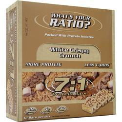 Metragenix 7:1 Protein Bar White Crispy Crunch 12 bars