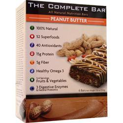 METRAGENIX The Complete Bar Peanut Butter 6 bars