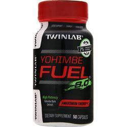 TwinLab Yohimbe Fuel 8.0 50 caps