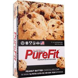 PUREFIT PureFit Nutrition Bar Peanut Butter Choco Chip 15 bars