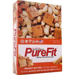 Purefit PureFit Nutrition Bar Peanut Butter Toffee 15 bars