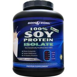 BODYSTRONG 100% Soy Protein Isolate Unflavored 5 lbs
