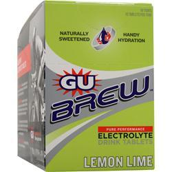 GU Brew Electrolyte Drink Tablets Lemon Lime 120 tabs