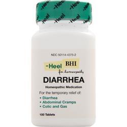 HEEL BHI - Diarrhea 100 tabs