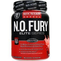 SIX STAR PRO NUTRITION N.O. Fury Elite Series Fruit Punch 1 lbs