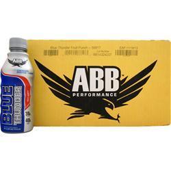 American Bodybuilding Blue Thunder RTD Fruit Punch 20 bttls