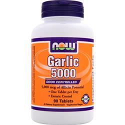 NOW Garlic 5000 90 tabs