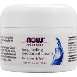 NOW Long-lasting Deodorant Cream 2.3 oz