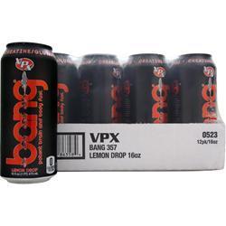VPX SPORTS Bang! RTD Lemon Drop 12 cans