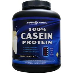 BODYSTRONG 100% Casein Protein - Natural Unflavored 5 lbs