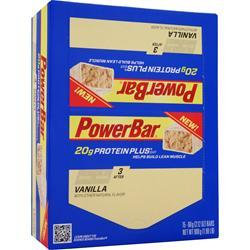 POWERBAR Protein Plus Bar Vanilla 15 bars