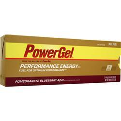 PowerBar PowerGel - Performance Energy Gel Pomegranate BlueberryAcai 24 pck