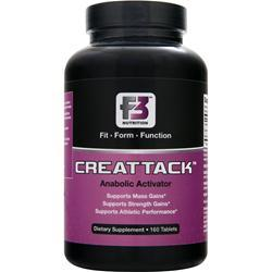 F3 Nutrition Creattack 160 tabs