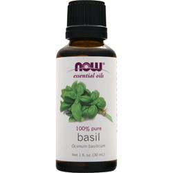 Now 100% Pure Basil Oil 1 fl.oz