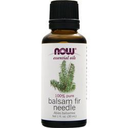 NOW 100% Pure Balsam Fir Needle Oil 1 fl.oz