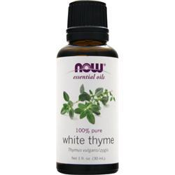 NOW 100% Pure White Thyme Oil 1 fl.oz