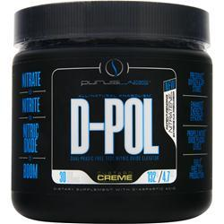 PURUS LABS D-Pol Powder - Dual Phasic Free Test/Nitric Oxide Elevator Custard Creme 4.7 oz