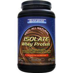 MRM Isolate Whey Protein Chocolate Malt 2.03 lbs