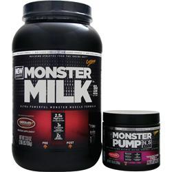 CYTOSPORT Monster Milk with Free Monster Pump NOS Chocolate 4.13 lbs