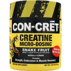 CON-CRET Creatine Micro-Dosing Powder Snake Fruit 47.4 grams