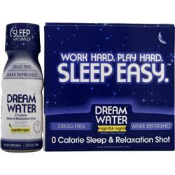 Dream Water Sleep Easy - Sleep & Relaxation Shot nighTea night 12 bttls
