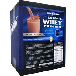 BODYSTRONG 100% Whey Protein - Natural Chocolate 10 lbs