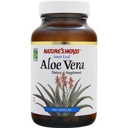 NATURE'S HERBS Aloe Vera Leaf 100 caps