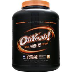 ISS RESEARCH Oh Yeah! Total Protein System Cookies & Creme 4 lbs