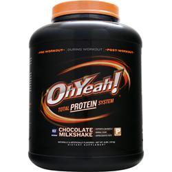 ISS RESEARCH Oh Yeah! Total Protein System Chocolate Milkshake 4 lbs