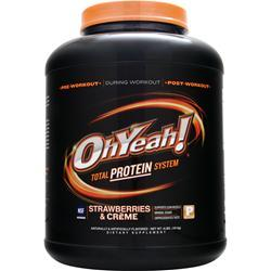 ISS Research Oh Yeah! Total Protein System Stawberries & Creme 4 lbs