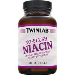 TwinLab Niacin - No Flush (800mg) 50 caps
