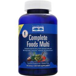 Trace Minerals Research Complete Foods Multi 120 tabs
